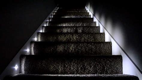 stair lights led indoor titan homes stair lighting youtube