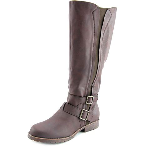 stride boots kenneth cole reaction stride synthetic brown