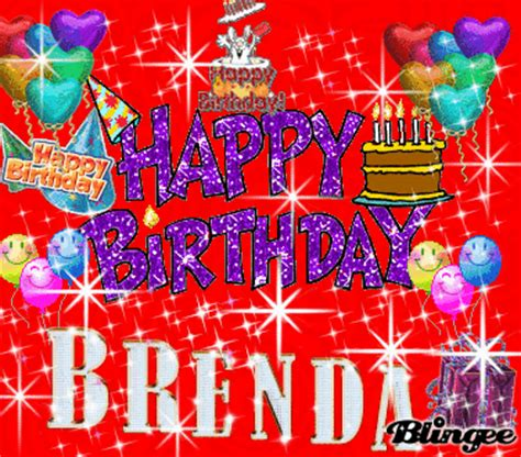 Happy Birthday Brenda And Fergie by Happy Birthday Brenda Picture 124906430 Blingee