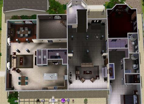 the oc house floor plan mod the sims the cohen house from the o c