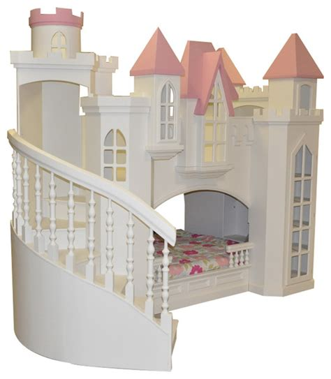 Castle Bed For by Castle Bed W Wraparound Staircase Traditional