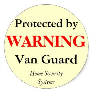 home security stickers zazzle co nz