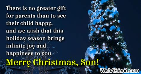 christmas messages  son page