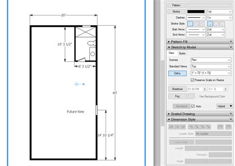 sketchup layout hybrid layout 2018 hybrid mode problem layout sketchup