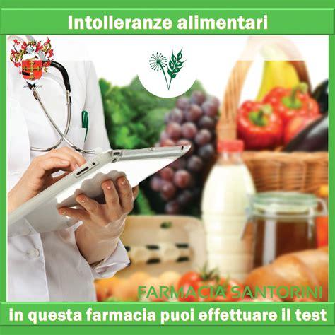 intolleranze alimentari test costo allergie e intolleranze farmacia santorini