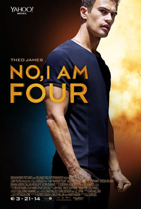 i am number four merchandise i am number four poster theo james is the new four