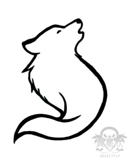 Simple Wolf Outline by 25 Best Ideas About Simple Wolf On Wolf Design Drawing Designs And Wolf App