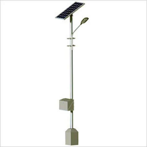 Industrial Solar Street Light Cfl In Tagore Road Rajkot Industrial Solar Lighting