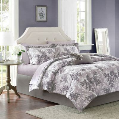 grey and white comforter set queen buy grey comforter sets queen from bed bath beyond