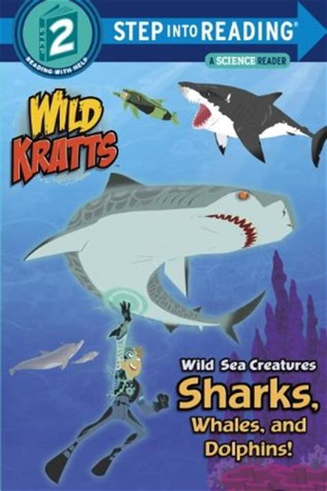 fliers kratts step into reading books sea creatures sharks whales and dolphins