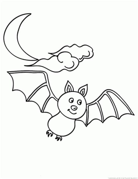 bumblebee bat coloring page bat coloring pages part 4