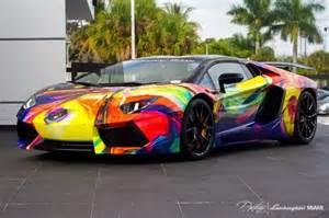 Lamborghini Paintings Drive With The Duaiv Lamborghini Park West Gallery