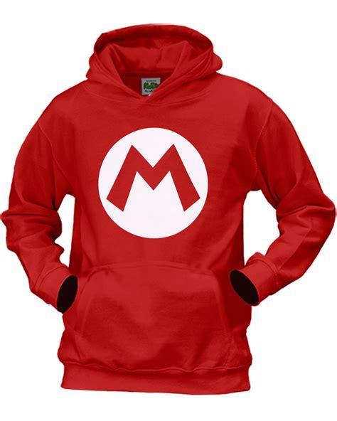 Hoodie Mario Bros Merah 2 children s mario bros mario hoodie ages 3 13yrs