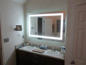 bathroom mirrors lighted lighted vanity mirrors make up wall mounted 60 quot wide x