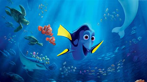 wallpaper disney animation wallpaper finding dory nemo shark fish pixar