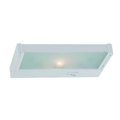 Shop Sea Gull Lighting 8 12 In Hardwired Plug In Under Incandescent Cabinet Lighting