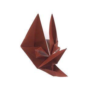 Origami Fox Mask - origami fox mask by toyoaki kawai origami expressions