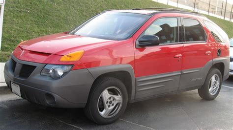pontiac aztek red pontiac aztec autos post