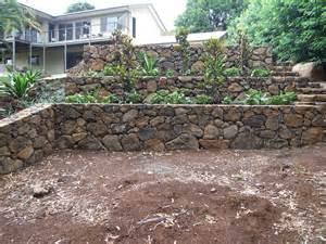 rock retaining walls landscaping design construction