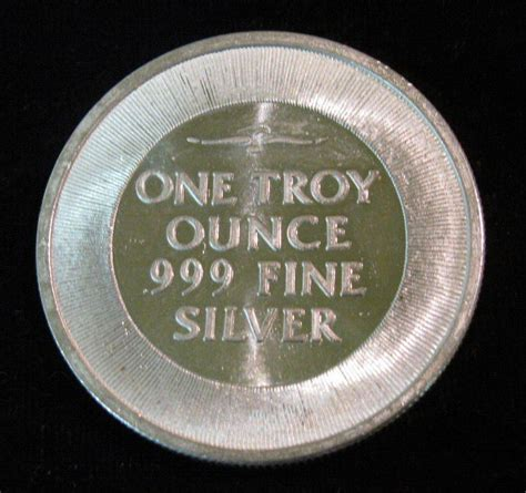 1 Troy Ounce Silver - 18 spread eagle quot silver trade unit quot one troy ounce 999
