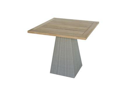 Single Leg Dining Table Gdl Italia Il Giardino Di Legno Gipsy Square Single Leg Dining Table 4704 832