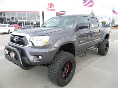 Toyota Tacoma For Sale In Houston New 2012 Toyota Tacoma V6 Cab 4x4 For Sale Stock
