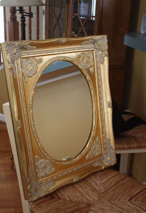 chalk paint mirror frame painted mirror with chalk paint and petroleum jelly hometalk