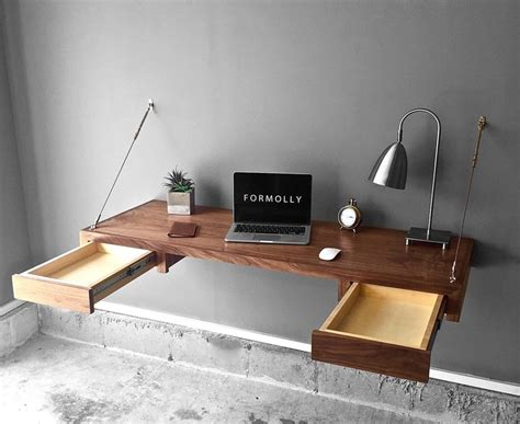 floating desk with drawers best 25 desk with drawers ideas on white desk