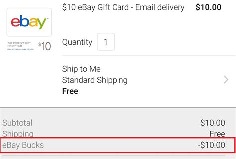 How Do You Redeem An Ebay Gift Card - hurry buy ebay gift card with ebay bucks frequent miler