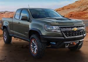 Chevrolet Colorado Road 2015 Chevrolet Colorado Zr2 Previews Possible Road