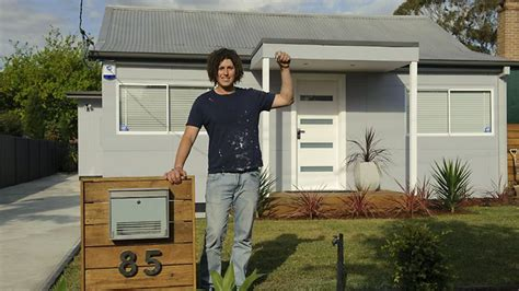 michael lynch winner of channel ten s the renovators in