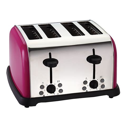 Turquoise Toaster Oven Got It Raspberry Spectrum 4 Slice Toaster For The Home