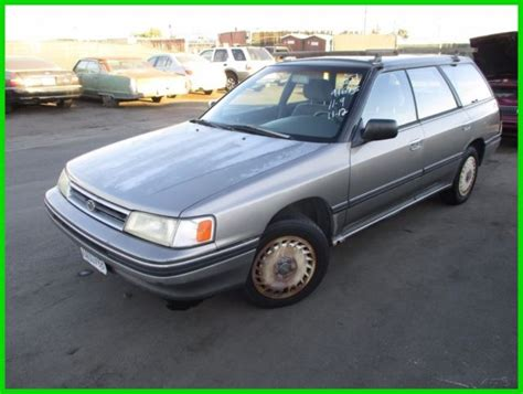 subaru 2 2l what years made 1990 to present legacy impreza outback forester baja wrx 1990 subaru lagacy l used 2 2l h4 16v automatic awd no reserve classic subaru legacy 1990 for sale
