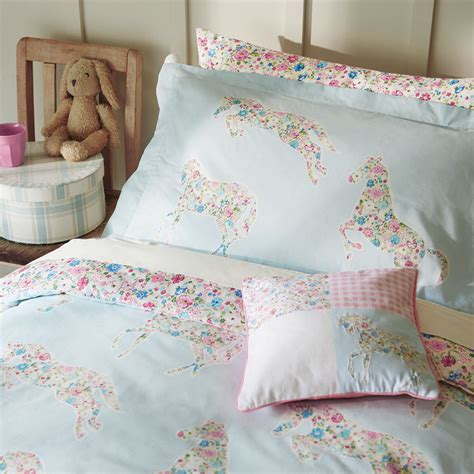 Buy Duvet Cover Set Buy Sanderson Pretty Ponies Duvet Cover Set Amara