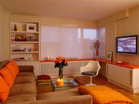 50 living room decorating ideas living rooms orange orange design ideas hgtv