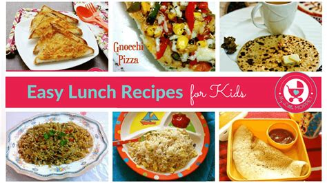 easy lunch box recipes for kids