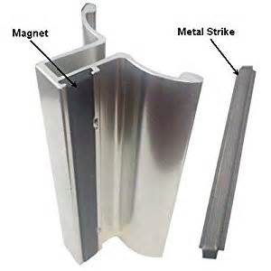 magnetic for shower door bright chrome frameless shower door handle with magnet and