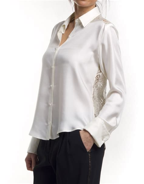 Silk Sleeve Shirt sleeve silk shirt roberto verino