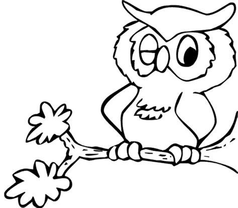 cartoon owl coloring pages cartoon coloring pages