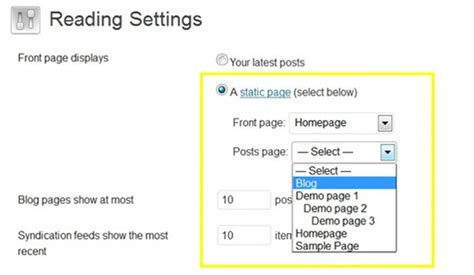 Steps For Creating Separate Blog Section To Your Wordpress