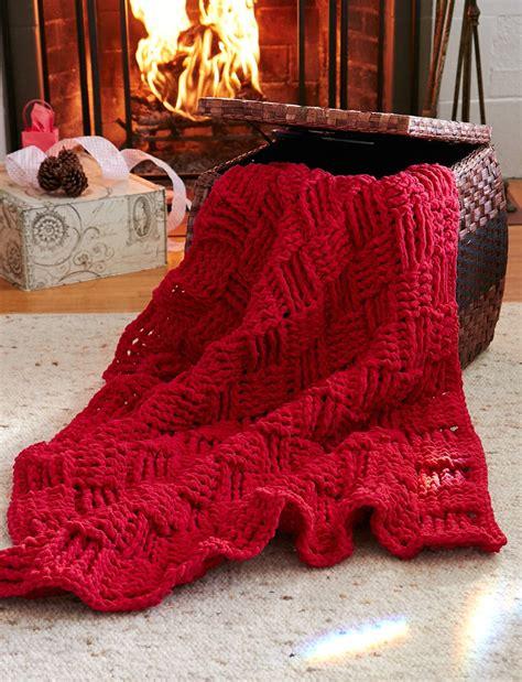 basketweave knit afghan pattern cranberry basketweave throw allfreecrochetafghanpatterns