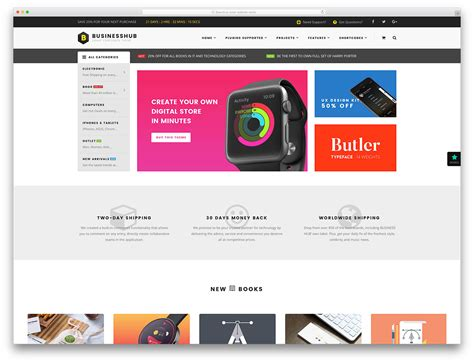 54 Awesome Ecommerce Wordpress Themes 2019 Colorlib Products Website Templates