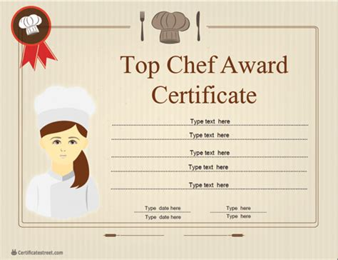 chef certificate template best chef certificate template choice image certificate