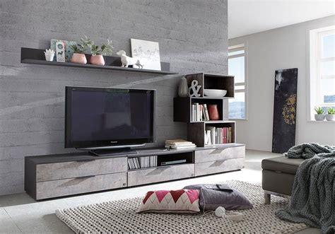 Banc Tv Contemporain by Banc Tv Contemporain Baya Coloris Anthracite Et Effet