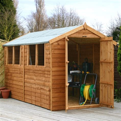 waltons overlap apex wooden shed