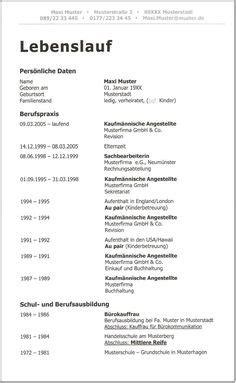Difference Between Lebenslauf Und Cv Classic Cv Klassische Lebenslauf Vorlage Lebenslauf