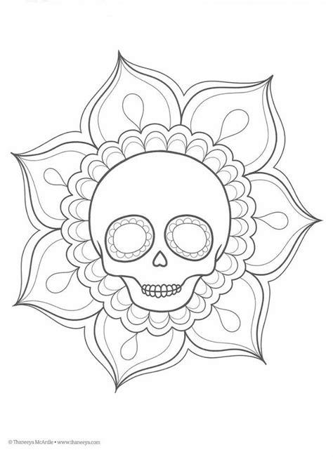 da de muertos dibujos dibujos para colorear el d 237 a de los muertos 15