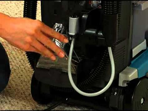 Hoover Spinscrub 50 Upholstery Attachment by How To Use The Hose On The Hoover Steam Vac Doovi