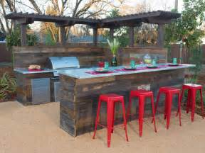 modern outdoor bar ideas  entertain