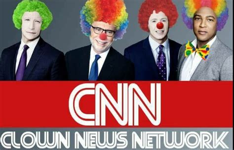 news network cnn clown news network the donald